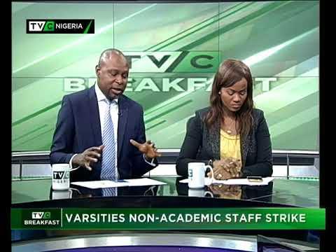 TVC Breakfast 12th September 2017 | Varsities Non-Academic Staff Strike