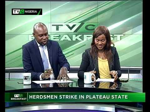 TVC Breakfast 12th September 2017 | Herdsmen Strike in Plateau State