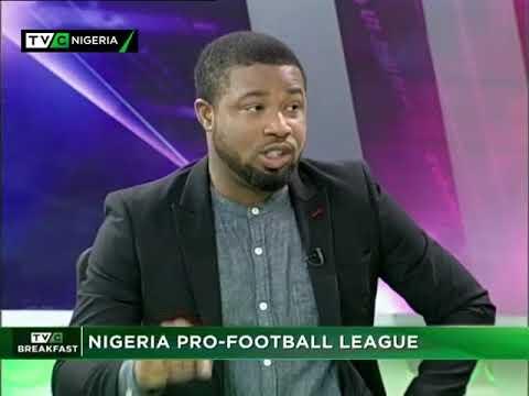 TVC Breakfast 8th September 2017   Sports Talk:  Nigeria Professional Football LeagueEB