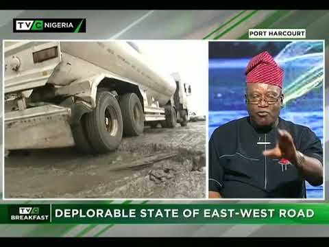 TVC Breakfast 6th September 2017 | Deplorable State of East-West Road