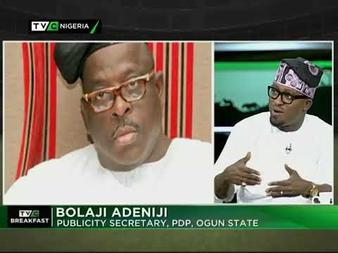 TVC Breakfast 24th August 2017 | PDP's Lingering Southwest Crisis