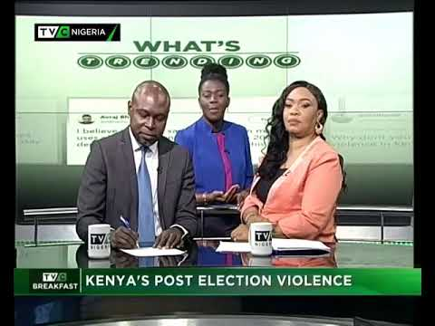 TVC Breakfast 15th August 2017 | Kenya's Post Election Violence