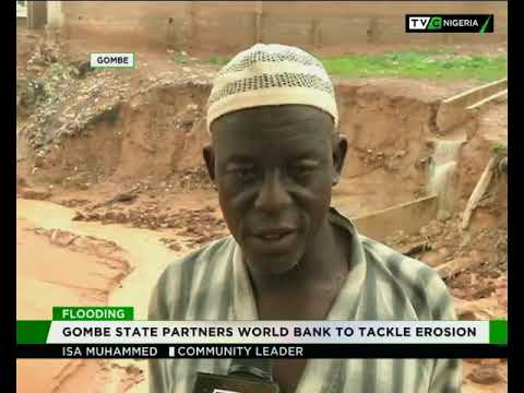 Gombe govt partners World Bank to tackle Erosion