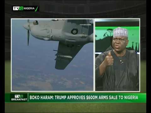 TVC Breakfast 7th August 2017 | Boko Haram: Trump Approves $600million