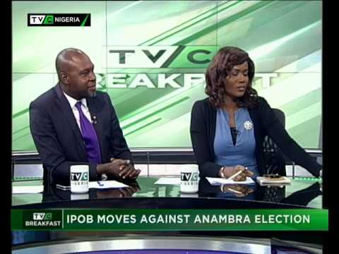 TVC Breakfast 3rd August 2017 | IPOB Moves against Anambra Election