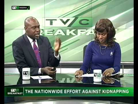 TVC Breakfast August 1st   The nationwide effort against kidnapping
