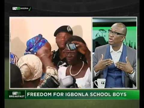 TVC Breakfast July 31st | Freedom for Igbonla school boys