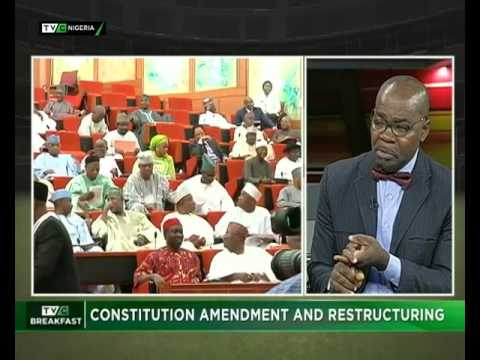 TVC Breakfast July 31st | Constitution amendment and restructuring