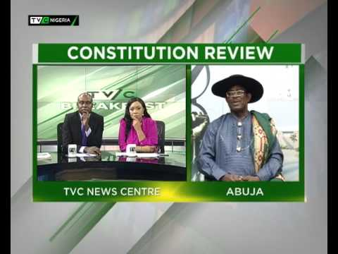 TVC Breakfast July 28th | Constitution review