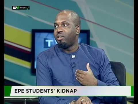 Ogunjobi Ayodeji speaks on the Epe school kidnap