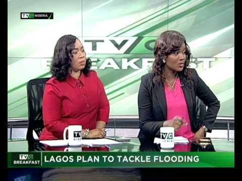 TVC Breakfast July 12th   Lagos plan to tackle flooding