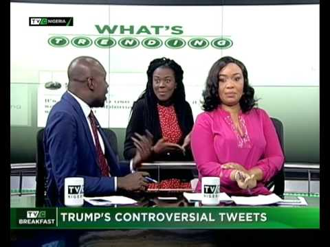 TVC Breakfast July 7th   Donald Trump's contoversial tweets