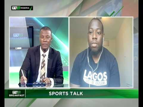 TVC Breakfast 5th July 2017 : Sports Talk with Tobi Olubiyi