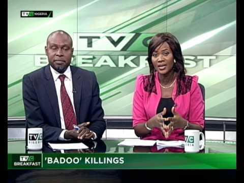 TVC Breakfast July 3rd 2017 | The Badoo killings in Ikorodu