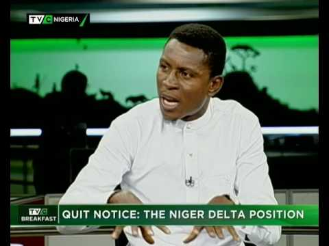 TVC Breakfast June 29th | Quit Notice : The Niger Delta solution