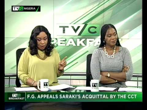 TVC Breakfast 23rd June 2017 | FG Appeals Saraki's Acquittal by CCT