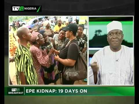 TVC Breakfast 13th June 2017   Epe Kidnap: 19 Days On