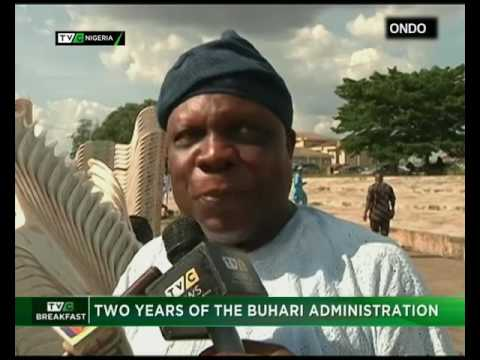 TVC Breakfast 29th May | Two Years of the Buhari's Administration