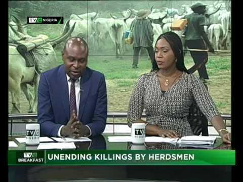 TVC Breakfast | Unending killings by herdsmen
