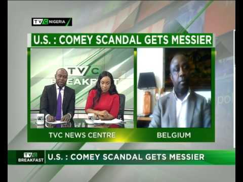 TVC Breakfast | US : Comey scandal gets messier