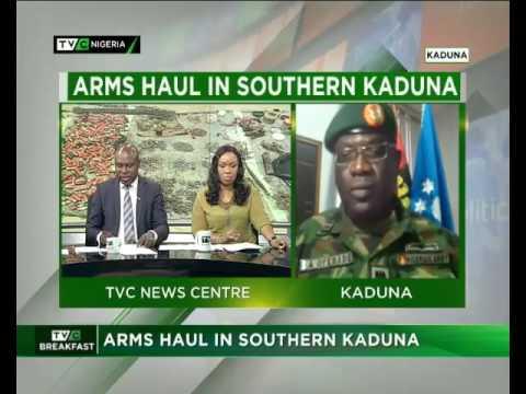 BFS   ARMS HAUL IN SOUTHERN KADUNA