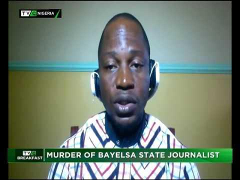 Murder of Bayelsa journalist