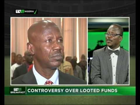 Controversy over Looted Funds