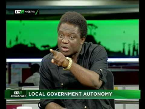 Breakfast Show  Local Government autonomy  AYODELE ADEWALE