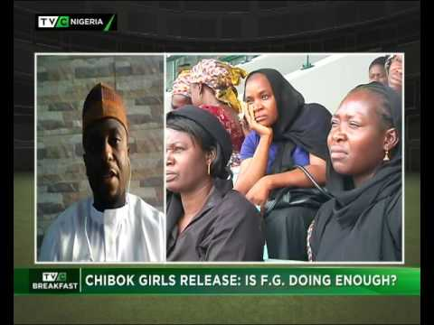 Breakfast Show|  CHIBOK GIRLS RELEASE: Is Federal govt doing enough