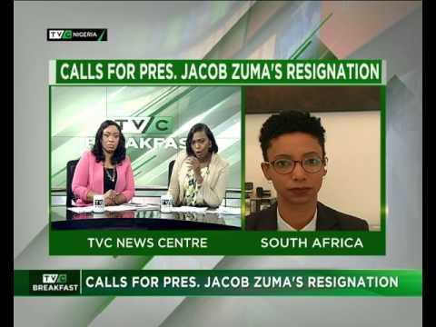 Call for President Zuma's resignation