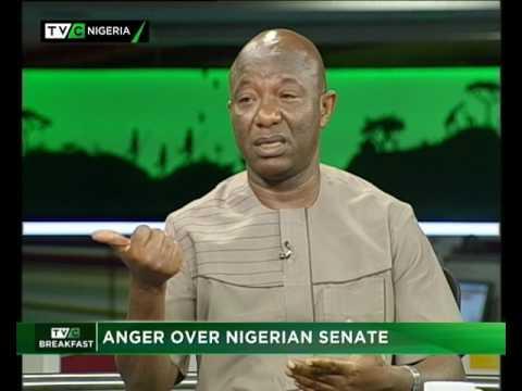 Anger over Nigerian Senate