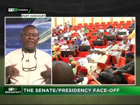 Senate and Presidency Face Off