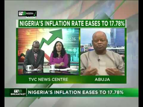 Nigeria's Inflation Rate eases to 17.78%