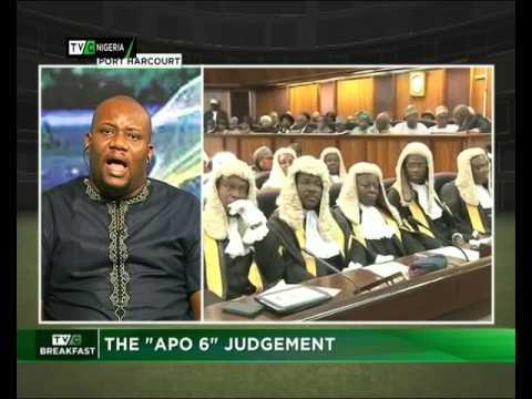 "The ""Apo 6"" Judgement"