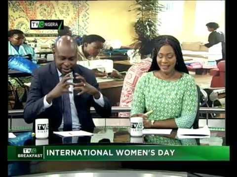 Breakfast Show | International Women's Day| Amy Oyekunle
