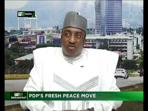 PDP's Fresh Peace Move