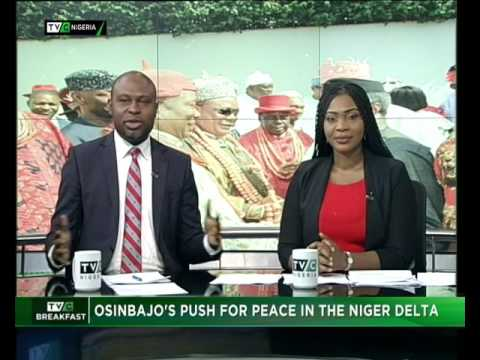 Osinbajo's Push for Peace in the Niger Delta