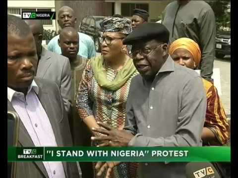 """I Stand With Nigeria"" protest"