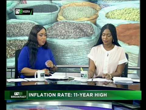 Inflation Rate 11-year high