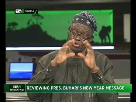 Buhari's new year message 2017