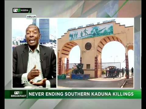 Never Ending Southern Kaduna Killings