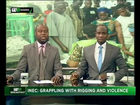 INEC grappling with Rigging and Violence
