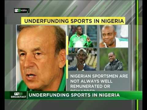 Underfunding Sports in Nigeria