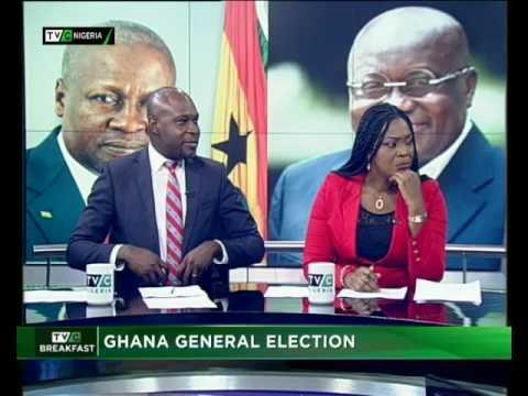Ghana Election   Nana Akufo Ado – President   Breakfast Show   Ayodele Ozugbakun  TVC N