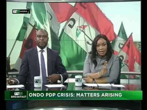 Ondo PDP Crisis: Matters Arising