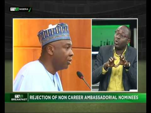 Rejection of Non Career Ambassadorial Nominees