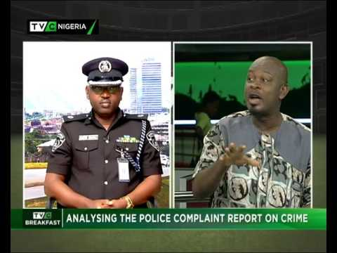 Analysing the police complaint report on crime