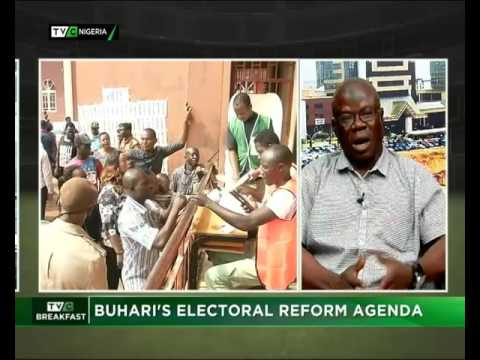 Buhari's Electoral Reform Agenda