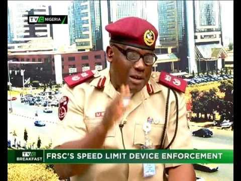 FRSC's Speed Limit Device Enforcement