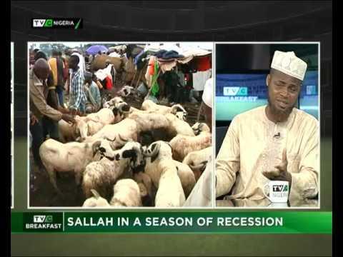 Sallah in the season of recession